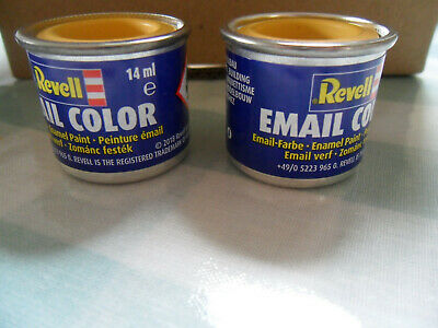 NEW Revell Email Color Enamel Paint 14 ml Yellow Matt no.15