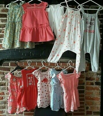 Girls Clothes Bundle Age 2-3 Years Summer playsuits Nutmeg Next & more