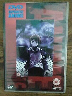 "Japanese Anime DVD - Serial Experiments Lain: Vol #1 ""Navi"" 