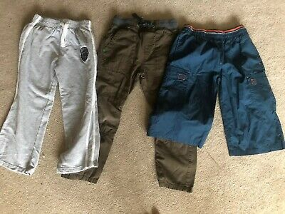 3 Pairs Of Boys Trousers By Next  And Joggers Age 7