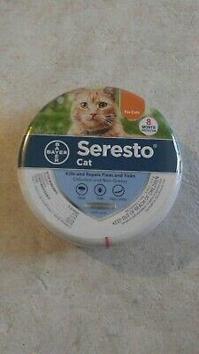 Bayer Seresto Flea and Tick Collar for Cats (10 wks or older) 8 Month US PRODUCT