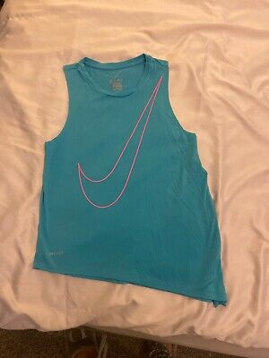 Girls Nike Top Size Medium Age 10-12 Years