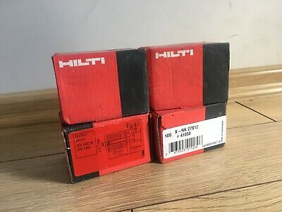 HILTI X-NK 22S12 NAILS for dx450 and dx400 b,  X-NK 22s12 41057