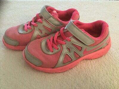 Girls Pink NIKE Trainers  -  Size 1.5
