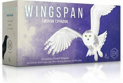 Stonemaier Games STM901 Wingspan: European Expansion, Mixed Colours Game Fun NEW