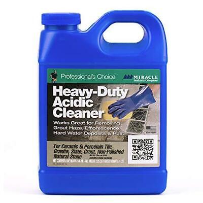 Miracle Sealants HDAC6QT Heavy Duty Acid Cleaners Strong Formula Removes Stains.