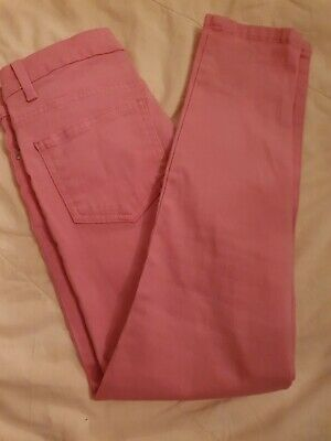 Girls Pink Marks And Spencer Jeans - 8/9 Years