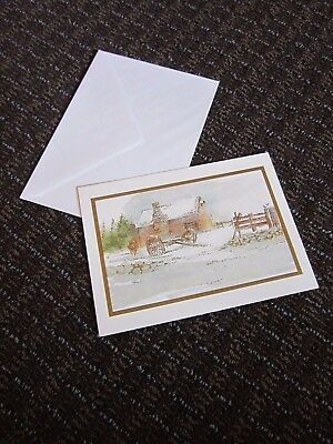 WINTER MILL Holiday Collection 18 pack Boxed Christmas Cards 909600 2018
