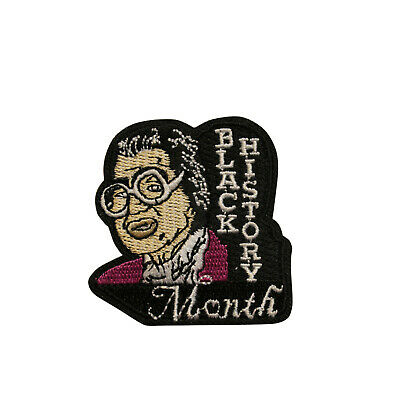 """/""""BLACK HISTORY/"""" Iron On Patch Martin Luther King President O/'Bama"""