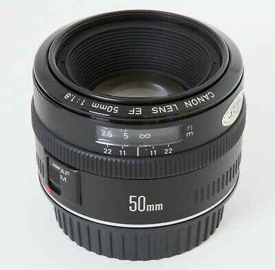 Canon EF 50mm f/1.8 AF Lens MK 1, Metal Mount, Clean and Sharp, Free Shipping US