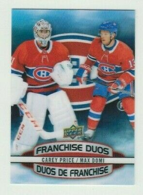 2019/20 Tim Hortons Franchise Duos+Clear Cut Phenoms U Pick To Complete Your Set