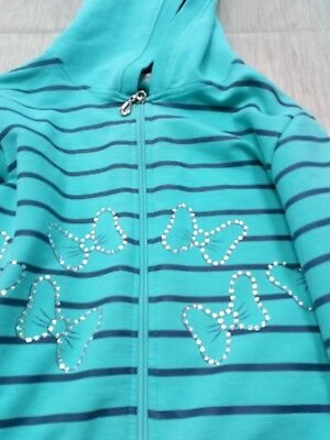 Sport/ PE top( with crystal detail) and bottom for girls age 5-6-7