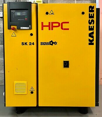 HPC / Kaeser SK24 Rotary Screw Compressor, 15.0Kw, 77Cfm Great Order!