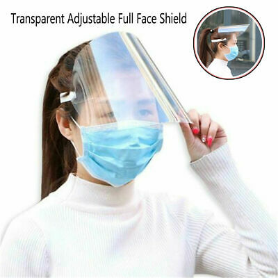 SAFETY FACE SHIELD With CLEAR FLIP-UP VISOR Shop Garden Outdoor Self-Protective