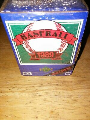 1989 Upper Deck Baseball Cards High Number Series Box Factory Sealed 701-800
