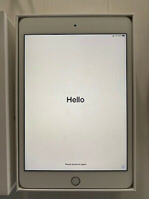Apple iPad mini 4 128GB, Wi-Fi + Cellular, 7.9in - Space Silver