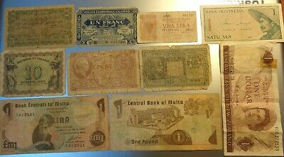 10 Old Currency Notes