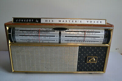 Collectable Hmv Consort J8 Transitor Radio Restored