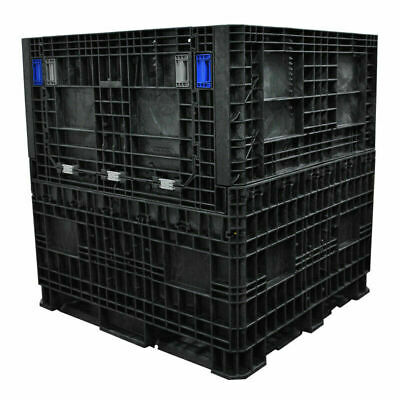 Collapsible Used Bulk Containers - 48 x 40 x 39""
