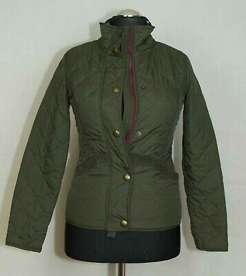Womens Girls Joules Jacket Quilted Zip Size Uk6-8 ( Label 10) Vgc