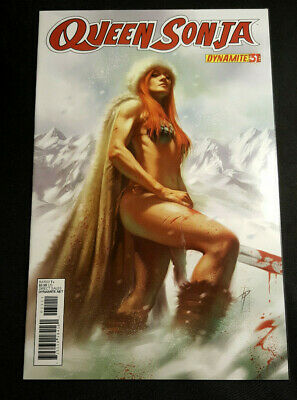 NM LUCIO PARRILLO variant SOLD-OUT 1st print Dynamite QUEEN SONJA #32 vol 1