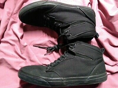 Vans Off the Wall Men's High Tops Shoes Size 13 Black