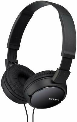Sony MDRZX110/BLK ZX Series Stereo Headphones, Black
