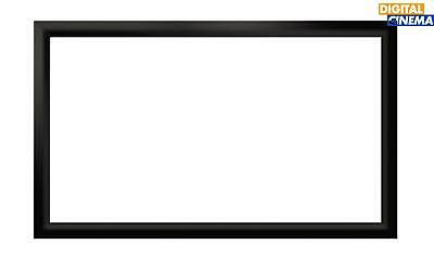 140 Inch 16:9 Black Velour Projector Projection Fixed Frame Screen - Aust Stock