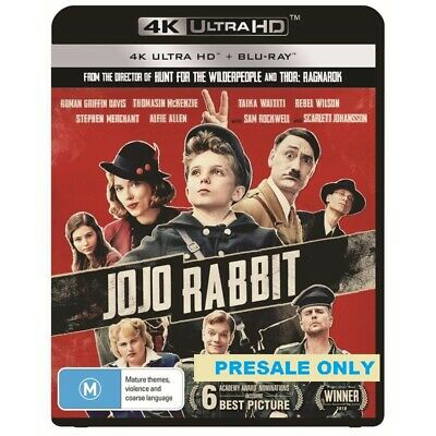 Jojo Rabbit (4K UHD + Blu-Ray) Brand New & Sealed - Region B