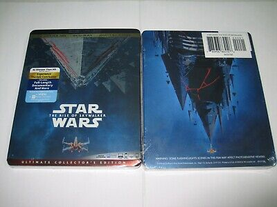 Star Wars Episode Ix The Rise Of Skywalker 4K Ultra Hd+ Blu-Ray+Digital Shipfree
