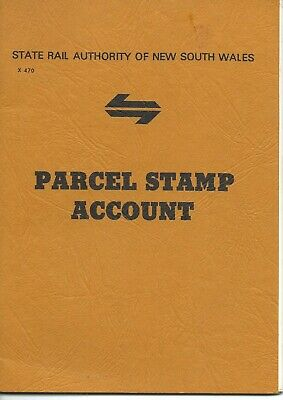 NSW Parcel Stamp Account Book (Unused, 40 pages)
