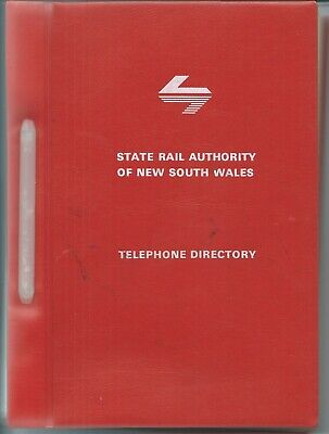 NSW Railway Telephone Directory: 235 Pages, 1984?
