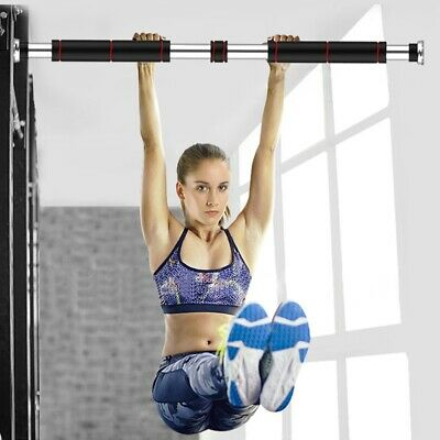 1x Gym Doorway Pull Up Bar Chin Up Sit-Up Strength Body Workout Exercise Fitness