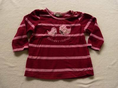 PUMPKIN PATCH girls bird top size 6-12 months - $3 post option