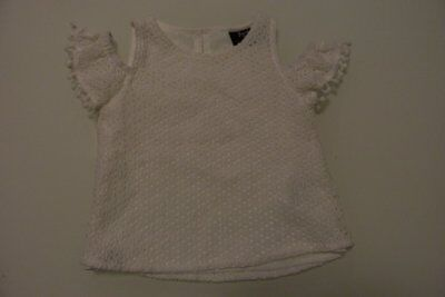 BARDOT JNR girls white summer top size 0 - $3 post offer