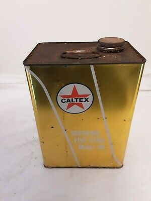 Caltex Supreme  1 Gallon Tin