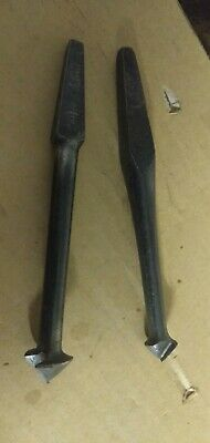 2 Vintage countersink Bits One Branded Ridgeway 5/8 brace and bits