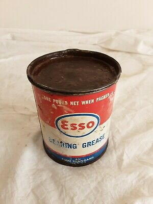Esso 1 Lb Grease Tin