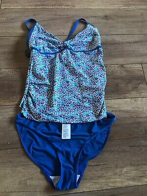 Woman Maternity Swimsuit/shorts/top Size 10, Blooming Marvellous