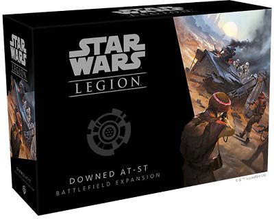 Star Wars Legion - Downed AT-ST Battlefield Expansion - NEW and Sealed - FFG