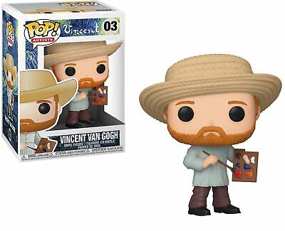 Vincent #03 - Vincent Van Gogh - Funko Pop! Artists (Brand New)
