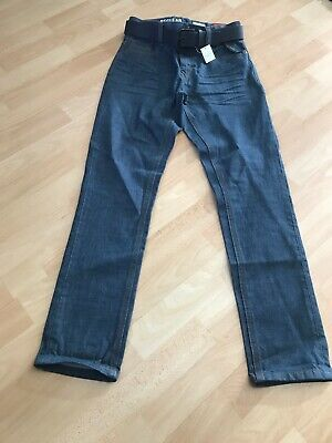 Boys Blue Denim Slim Fit Jeans BNWT Age 12 From Next