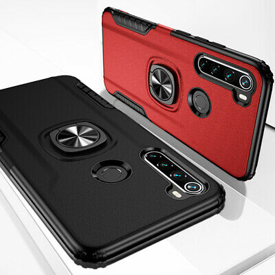Case For Xiaomi Mi 9T Pro Note 7 Magnetic Finger Ring Car Holder Stand Cover