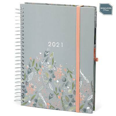Boxclever Press 2020 - 2021 Family Life Book Diary. Week-to-view layout.