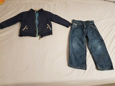 Ted Baker boys jacket and jeans/trousers age 3-4 years