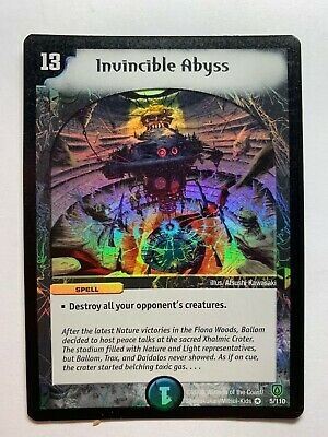 Duel Master TGC Illusory Berry DM06 Stomp-a-Trons of Invincible Wrath