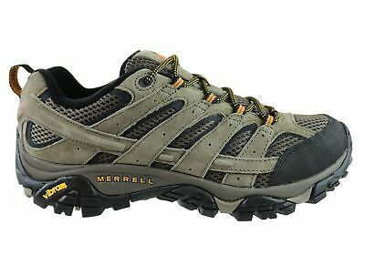 Mens Merrell Moab 2 Vent Comfortable Wide Fit Hiking Shoes - ModeShoesAU