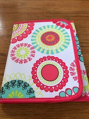 Thirty One Fold It Up Organizer CITRUS MEDALLION w Notepad NEW