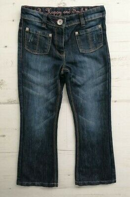 Girls age 7 years denim jeans/trousers,adjustable waist by NEXT hardly worn!