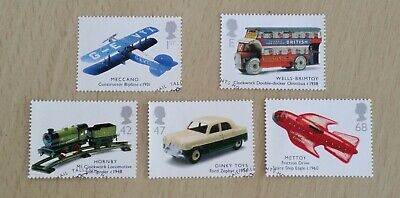 GB QEII Comm. Stamps. 2003 (SG 2397-2401) Classic Transport Toys. Set from FDC